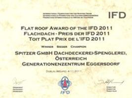 <h2>Flachdach-Award 2011</h2>