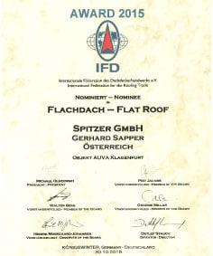 <h2>Flachdach-Award 2015</h2>